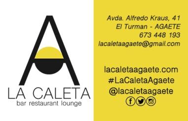 tarjeta de visita La Caleta