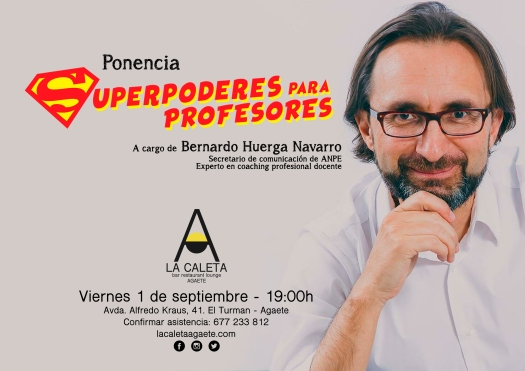 Ponencia superpoderes para profesores